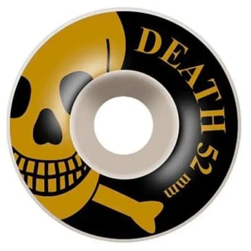 Death OG Skull Wheels Gold - 52mm