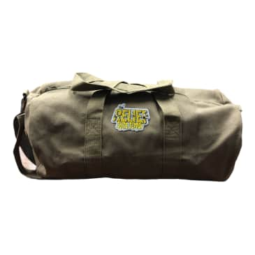 Relief Canvas Duffle Bag Olive