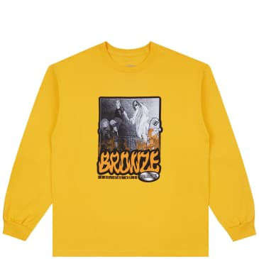 Bronze 56k Psalms 56K Long Sleeve T-Shirt - Gold
