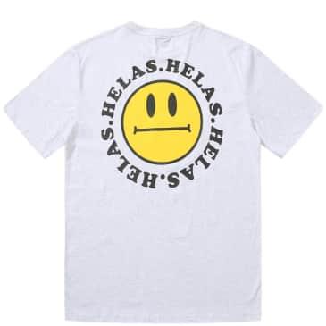 Hélas Smiley T-Shirt - Heather Grey