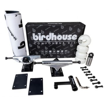 """Birdhouse Component Kit 5.25 Silver/Black (Ideal for 7.75"""" - 8.25"""")"""