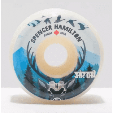 Satori Wheels - Satori Spencer Hamilton Canada Wheels 101a 54mm