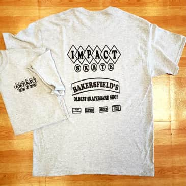 IMPACT Good Times Tee Heather Grey