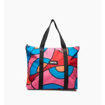 by Parra - serpent pattern tote bag