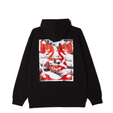 Seduction of the Masses Box Fit Heavyweight Terry Pullover Hood
