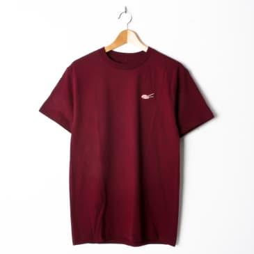 Evisen Sushi Stitch T-Shirt Burgundy