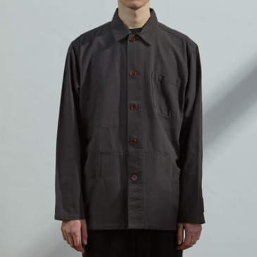 USKEES - Buttoned Faded Black jacket