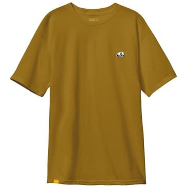 Enjoi Skateboards Panda Patch T-Shirt - Mustard