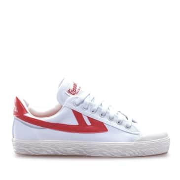 Warrior Shanghai Classic Low WB-1 Shoes - White / Red
