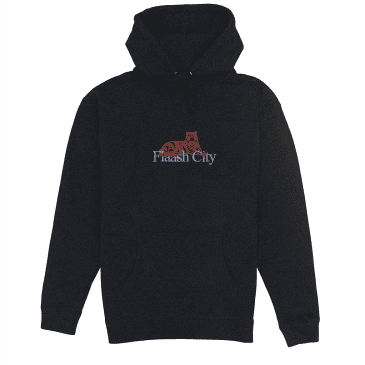 Flaash Tiger Corp Embroidered Hood Black