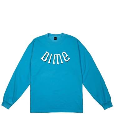Dime Whirl Long Sleeve T-Shirt - Dark Teal