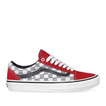 Vans Sketchy Old Skool Pro Shoes - Checkered