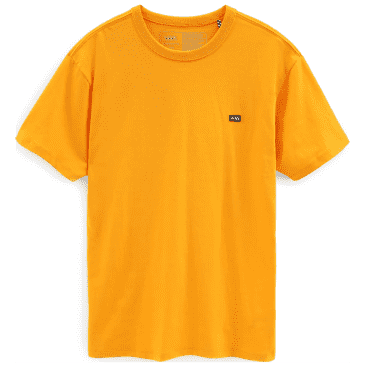 Vans Off The Wall Classic T-Shirt - Saffron