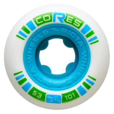 Ricta Cores Skateboard Wheels (Neon Blue) 53mm 101a