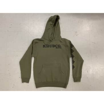Krudco. Est. 1994 Knot Pullover Hoodie Army Green