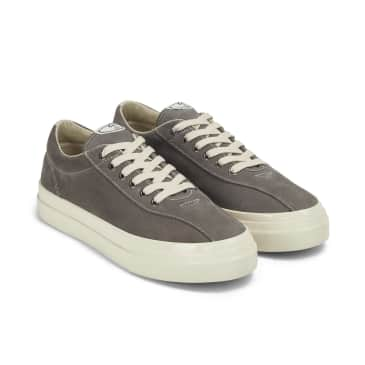Stepney Workers Club Dellow Mens Suede Shoes - Grey