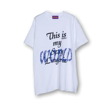 World Is Mine - This Is My World Tee - White
