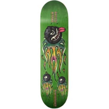 Chocolate Skateboards Raven Tershy Mad 8 Ball One Off Skateboard Deck - 8.5
