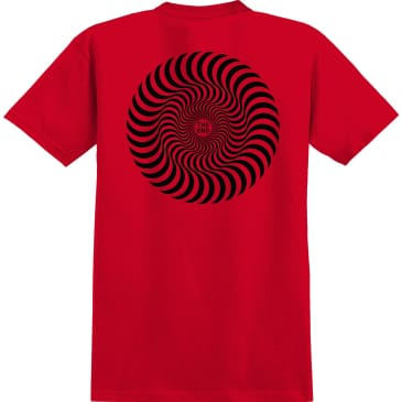 SPITFIRE Youth Classic Swirl Tee Red/Black
