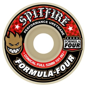 Spitfire Formula Four Wheels Conical Full 101Duro 52mm