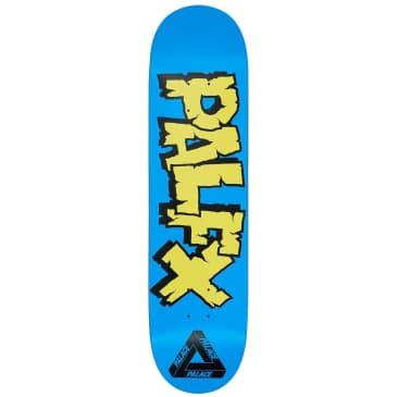 Palace Nein FX Blue Skateboard Deck - 8""