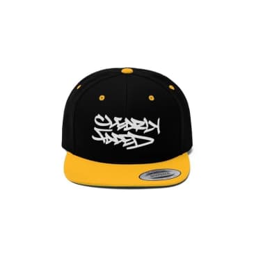 Clearly Faded Snapback (Black/Yellow)