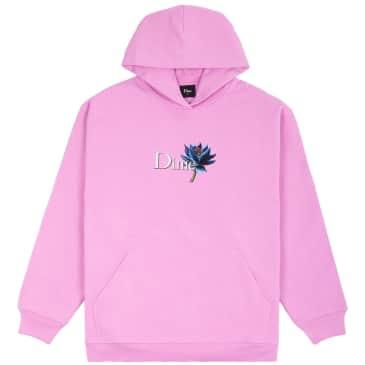 Dime Black Lotus Hoodie - Light Pink