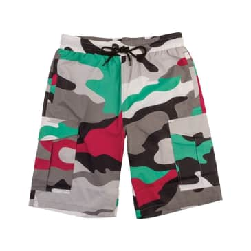 DGK Excursion Swishy Shorts - Multi Camo