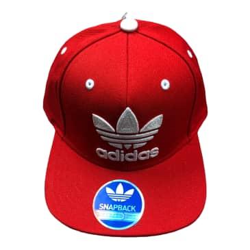 Adidas Snapback Hat Red/Green