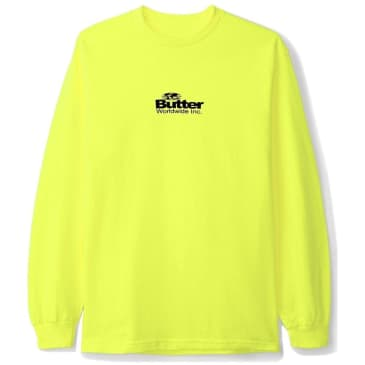Butter Goods Incorporated Long Sleeve T-Shirt - Safety Green