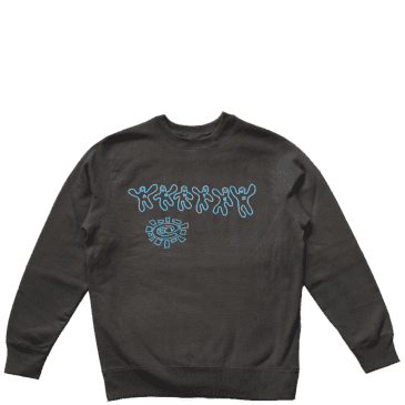 always do what you should do better together crew puff print - Black