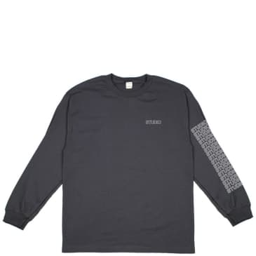 Studio Skateboards Sport Block Long Sleeve T-Shirt - Charcoal