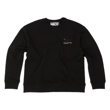ONLY SMOKE THE BEST STASH CREWNECK - BLACK