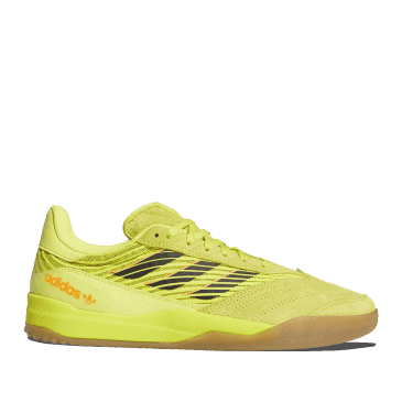 adidas Skateboarding Copa Nationale Shoes - Acid Yellow / Core Black / Gum