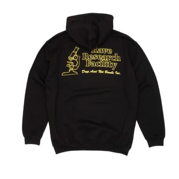 Rave Research Facility Hooded Sweatshirt - Black