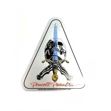 Powell Peralta Skateboards Skull & Sword Sticker