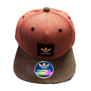 ADIDAS HAT SNAPBACK RED CHAMBRAY