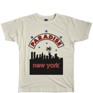 Paradise.NYC Run DMC Adidas Bootleg T-Shirt - White