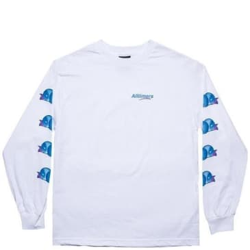 Alltimers Peachy Long Sleeve T-Shirt - White