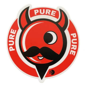 Pure Devil Man Sticker