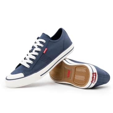 Levis Hernandez Canvas Shoes - Navy Blue
