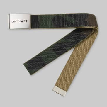 Carhartt WIP - Chrome Clip Belt - Camo Laurel