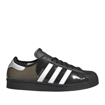 adidas Skateboarding Blondey Superstar Shoes - Core Black / Ftwr White / Core Black