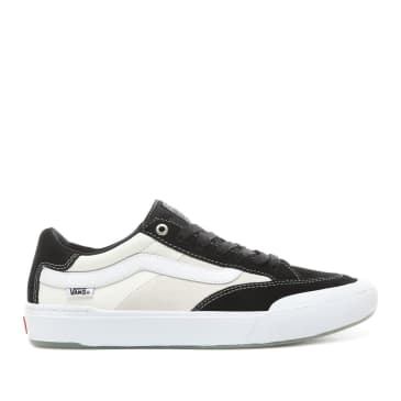 Vans Berle Pro Skate Shoes - Black / White
