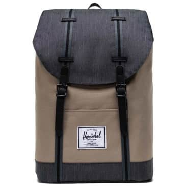 Herschel Retreat Backpack Standard - Timberwolf / Black Denim