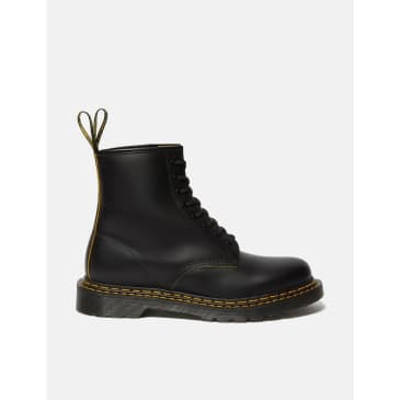 Dr Martens 1460 Double Stitch Boot (26100032) - Black/Yellow