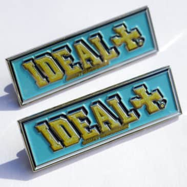 Ideal - Ideal Papers Logo Enamel Pin Two Pack.