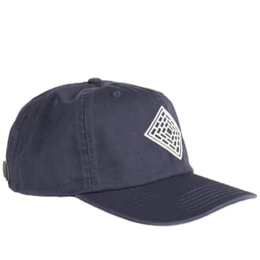 The National Skateboard Co. Logo Cap - Washed Navy