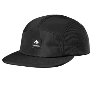 Emerica Logo Patch Camper Hat - Black