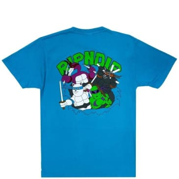 Ripndip Teenage Mutant T-Shirt - Blue